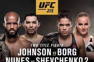 UFC 215-PPV