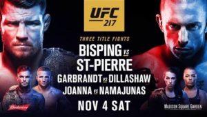 UFC 217 NYC @ Bada Bing Bar abd Grill | Buffalo | New York | United States