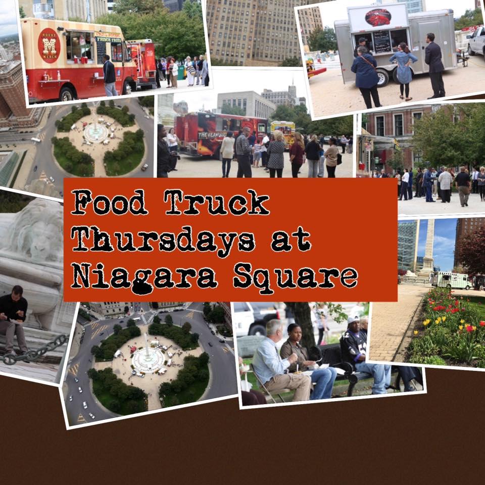 Food Truck Thursdays in Niagara Square @ City Hall | Buffalo | New York | United States