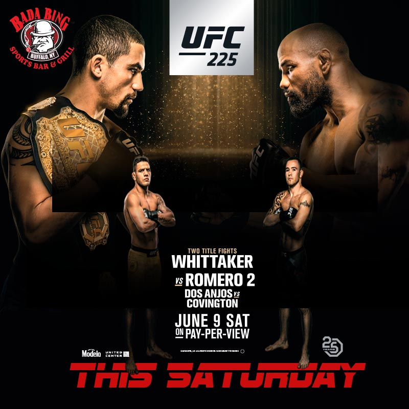 UFC 225 @ Bada Bing Bar and Grill | Buffalo | New York | United States