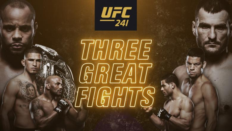 UFC 241 @ Bada Bing Bar and Grill