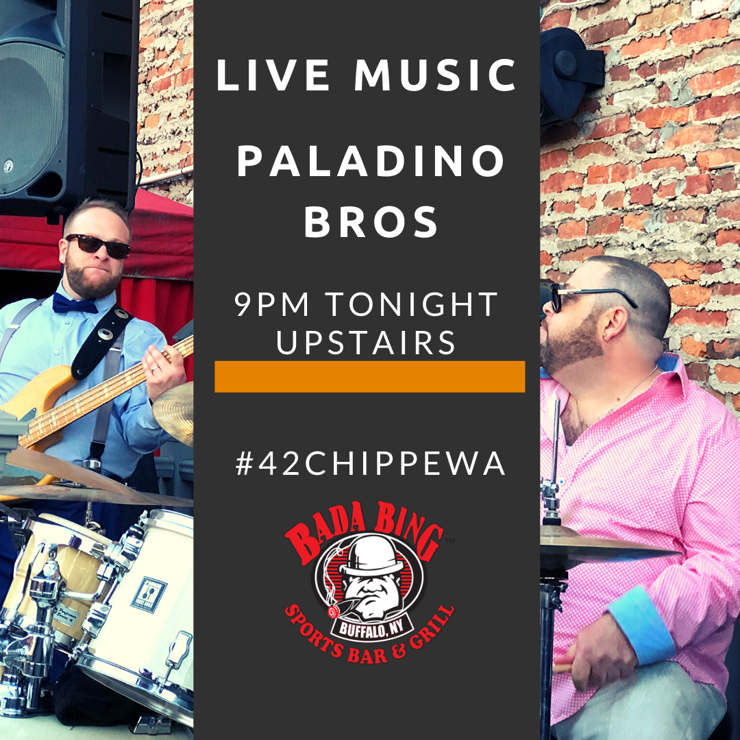 Paladino Bros Live Upstairs @ Bada Bing Bar and Grill